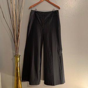 Express pin stripe wide leg dress pants Sz 10